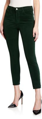 L'Agence Margot Corduroy High Rise Skinny Pants