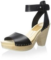 Dolce Vita Women's Nalia Wood Heel Sandal