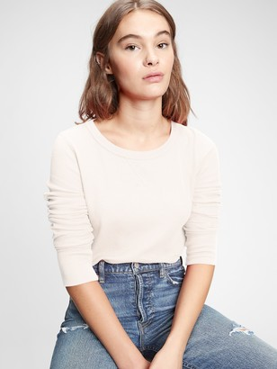 Gap Waffle-Knit T-Shirt