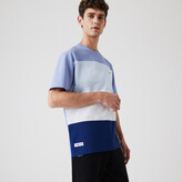 Thumbnail for your product : Lacoste Mens Relaxed Fit Colorblock Lightweight Cotton-Pique T-shirt