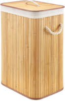 Whitmor Natural Rectangular Bamboo Hamper