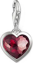 Thomas Sabo Charm club silver and corundum heart charm