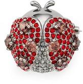 Nadri Siam Ladybug Pin