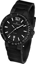 Jacques Lemans Men's 1-1695F Milano Sport Analog with Silicone Strap Watch