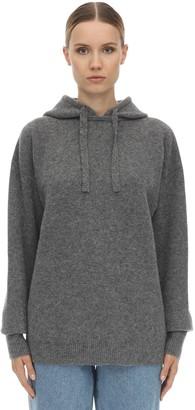 J.W.Anderson Hooded Wool Blend Knit Sweater