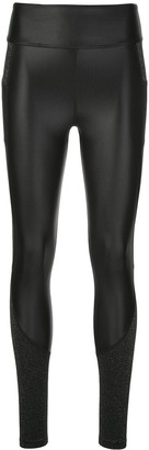ALALA Two-Tone Slim-Fit Leggings