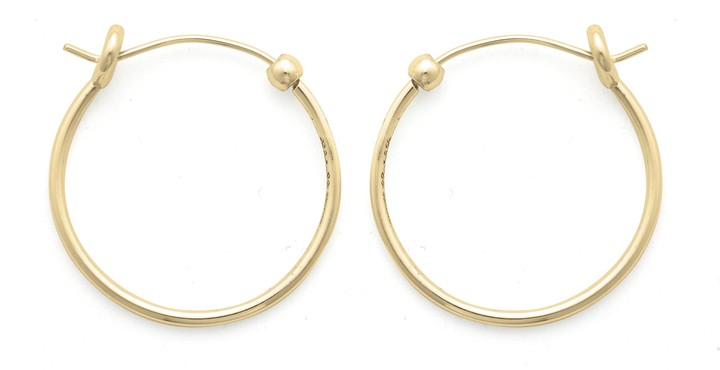 Alex and Ani Small Perfect Hoop Earrings