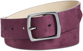 INC International Concepts Faux-Suede Belt, Created for Macy's