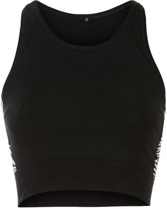 The Upside Zebra Crop Vest