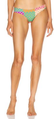 Silvia Tcherassi for FWRD Danesa Swimwear Bottom in Autumn Polka Dots | FWRD