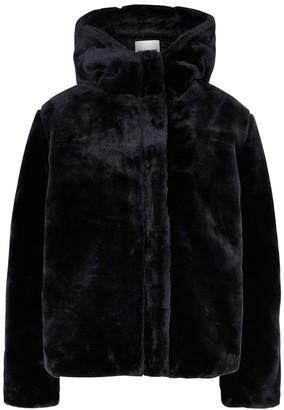 Samsoe & Samsoe Samse Samse Sabal Navy Faux Fur Jacket
