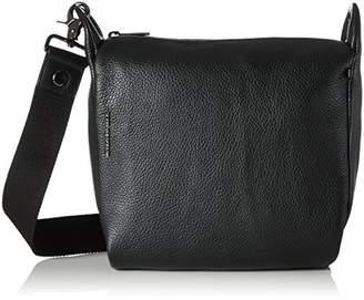 Mandarina Duck Women's Mellow Leather Tracolla Cross-body Bag,10x21x28.5 cm (B x H x T)