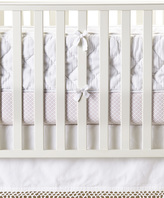 Serena & Lily Diamond Quilted Crib Bumper