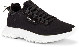Givenchy Spectre Low Top Sneaker in Black   FWRD