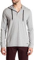 Bench Hooded Henley Tee