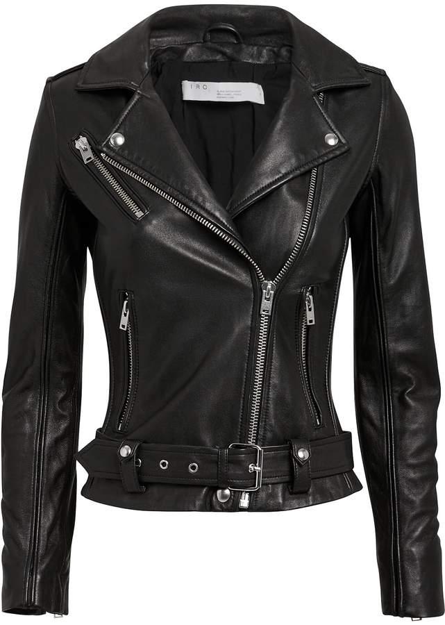 IRO Cara Leather Jacket
