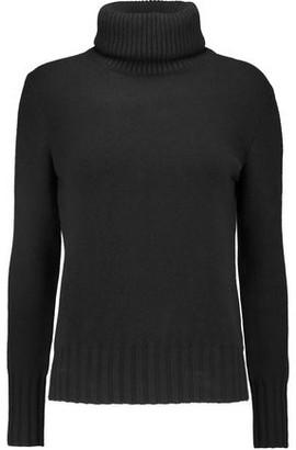 N.Peal Melange Cashmere Turtleneck Sweater