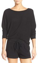 Make + Model Women's Graphic Brushed Hacci Sweatshirt