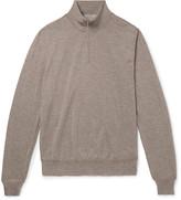 Canali - Merino Wool Half-zip Sweater