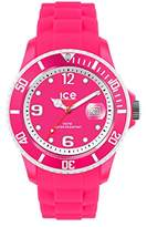 Ice Watch Ice-Watch - ICE sunshine Neon pink - Women's wristwatch with silicon strap - 013786 (Small)