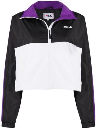 Fila Tri-Colour Funnel-Neck Technical Jacket