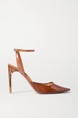 Givenchy Pvc And Leather Pumps - Brown