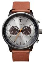 Triwa Nevil Chronograph Leather Strap, 42mm