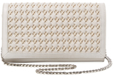 Sam Edelman Gina Woven Leather Wallet on a Chain