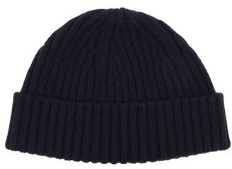Raey Ribbed-knit Merino-wool Beanie Hat - Mens - Navy