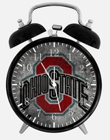 "Ikea New Ohio State Buckeyes Alarm Desk Clock 3.75"" Room Decor X50 Will Be a Nice Gift"