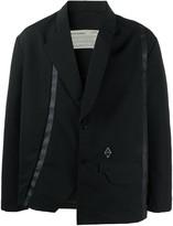 A-Cold-Wall* A Cold Wall* boxy fit press stud blazer