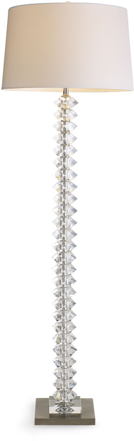 Horchow Crystal Floor Lamp