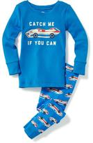 """Old Navy """"Catch Me If You Can"""" Sleep Set for Toddler & Baby"""