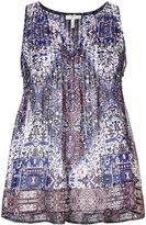 Joie sleeveless printed top - women - Silk - XS