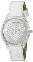 Jacques Lemans Women's 1-1803B Rome Analog Display Quartz White Watch