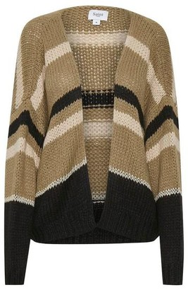 Saint Tropez Stripe Open Knit Cardigan - XS