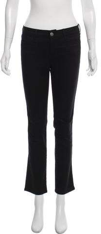 MiH Jeans Mid-Rise Straight-Leg Jeans