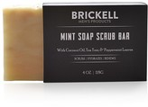 Brickell Mint Soap Scrub Bar