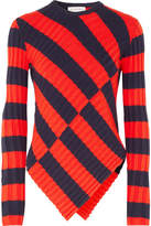 Altuzarra Mullins Striped Stretch-knit Top - Red