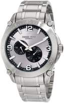 Pierre Petit Men's P-804C Serie Le Mans Automatic Stainless-Steel Sunray Dial Watch
