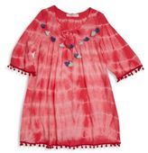 OndadeMar Little Girl's & Girl's Mandalay Tie-Dye Tunic