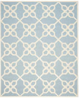 Safavieh Cambridge Collection CAM722 Rug, Blue/Ivory, 8'x10'