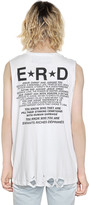 Enfants Riches Deprimes E.r.d. Dieu Print Cotton Jersey T-Shirt