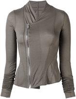 Rick Owens Lilies off centre fastening jacket - women - Cotton/Polyamide/Viscose - 38