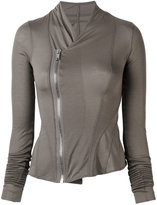 Rick Owens Lilies off centre fastening jacket - women - Viscose/Cotton/Polyamide - 38