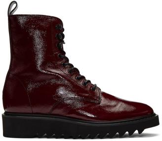Giuseppe Zanotti Red Rullino Boots