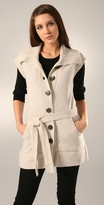 Long Belted Vest