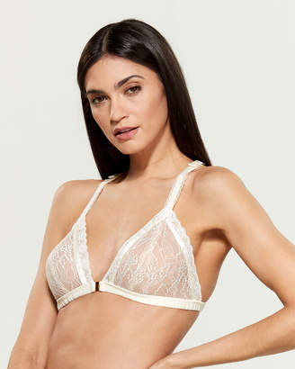 Ellipse Floral Lace Sheer Bra