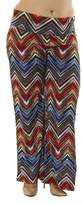 Golden Black Women's Plus Size High Waisted Foldover Palazzo Pants Cool Blue Alligator