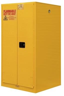 "Durham Manufacturing 66.38"" H x 34"" W x 34"" D Flammable Storage Durham Manufacturing Door Type: Manual Close"